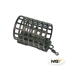 10 x Carp Coarse Match Barbel Fishing   Cage Metal swivel Feeders 20g NGT