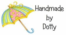 Personalised Mini stickers étiquettes x 65-Handmade by-Cute Umbrella