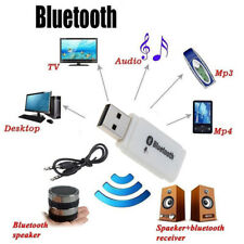 Bluetooth 5.0 USB Wireless Adapter Car Audio Stereo Receiver with microphone ^EE