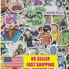 50- Rick and Morty Stickers Pickle Rick Vinyl Decal Stickers for Laptop Car