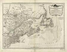 """18"""" x 24"""" 1776 Map of Northern British colonies in America"""
