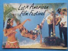 POSTCARD  1999 THE 10TH LATIN FILM FESTIVAL