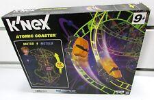 K'Nex Atomic Coaster Building Set Motorized Roller Racing Cars 4' High Original