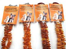 Ambre Chaîne pour chiens et chats  100% Collier ambre 20-40cm