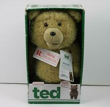 """TED Movie Talking Bear 16"""" Moving Mouth R Rated Explicit 5 Phrases FOR ADULTS"""