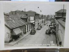 Vintage Old Postcard MEXICO Nogales Sonora Real Photo Calle Elias The Cavern Bar