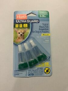 Hartz Ultra Guard One Spot Flea and Tick Treatment For Dogs 5 to 14 lbs.