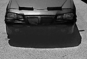 Front End Mask Car Bra Fits 1992-95 PONTIAC GRAND AM GT COUP