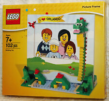 LEGO I Love Orlando Picture Frame 102 Piece Building Toy Loch Ness Nessie NEW