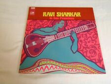 Ravi Shankar in San Francisco LP original World Pacific plays excellent