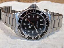 Steinhart Ocean One GMT Black 42mm Alum. Bezel / No Cyclops Full Kit