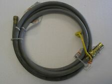 """Natural Gas 3/8"""" Quick Disconnect Hose Kit 10 Feet Gas Grills **Cosmetic Flaw***"""