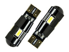 2x 6smd LED blanco xenon w5w t10 vidrio zócalo CheckControl Can-Bus ningún luz de estacionamiento