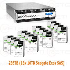 € 12250+IVA THECUS 256TB (16x16TB Exos SAS) N16850 Rack NAS 3.4GHz 16GB 2xPSU