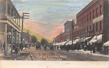 WESTFIELD PENNSYLVANIA~MAIN ST LOOKING WEST-STANDEN ART SHOP IMAGE POSTCARD 1910