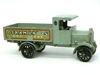 Matchbox Lesney Y6-1 AEC 'Y' Type Lorry 'OSRAM LAMPS' (VERY RARE GOLD TRIM)