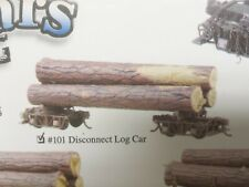 Undecorated Logging Railroad Disconnect Log Trucks / Car w/ Logs Kadee Kit 101