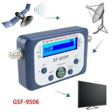 Digital LCD Satellite Finder Satfinder TV Signal Strength Meter Dish Compass