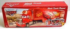 Disney Cars Movie Mack Truck Lightning McQueen Mattel Toy Car Playset