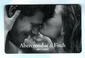 ABERCROMBIE & FITCH Young Couple 2005 Gift Card ( $0 )