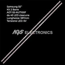 KIT 2 BARRE STRIP LED SAMSUNG  AOT-55-NU7100F BN96-45913A UN55NU7300
