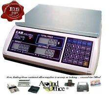 CAS Scale S-2000 Jr. 15 LB Retail Price Computing Scale LCD Display s2000JR