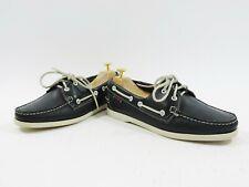 Sebago Ladies Shoes Docksides Blue Boat Deck US Made UK 7 US 8 EU 41 Worn Once
