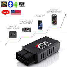 ELM327 Bluetooth OBD2 Car Diagnostic Scanner Code Reader For Android V1.5 CAN US