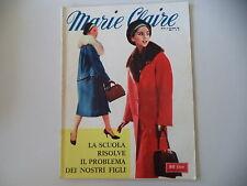 MARIE CLAIRE 39/1958 SERVIZIO SU ELIZABETH LIZ TAYLOR (1 PAGINA E MEZZA)