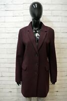 TOMMY HILFIGER Donna M Giacca in Lana Cappotto Lungo Giaccone Jacket Woman
