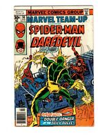 MARVEL TEAM UP #56 (VG) & 57 (FN 6.0) MAY 1977 BY MARVEL COMICS FREE SHIPPING!