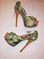 Chinese Laundry Women's Shoes Carly Design Platform Pump Multicolor Size 8 M