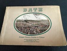 bath - sixteen camera studies in colour 1930s