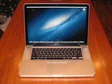 "15"" Apple Macbook Pro i7 Quad Core + 16 GB RAM + 2 TB Hard Drive! + EXTRAS!!"
