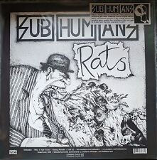 SUBHUMANS TIME FLIES/RATS 180GRAM VINYL LP MINT NEW UNPLAYED WITH POSTER INSERTS