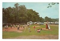 Hickory Run Family Campground Denver Rhode Island Unused Vintage Postcard LS7