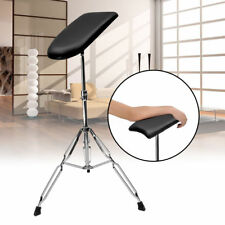 Adjustable Armrest Tripod Stand Soft Sponge Pad Metal Tattoo Leg Studio Portable