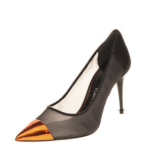 RRP €755 TOM FORD Mesh Court Shoes Size 36 UK 3 US 6 High Heel Made in Italy