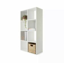 8 Cube Storage Shelf Cabinet Cupboard Organizer Bookshelf Display Unit Office
