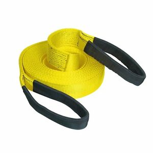12T Heavy Duty 9M x 100mm Snatch Strap Tow Rope Towing 4x4 Offroad Recovery