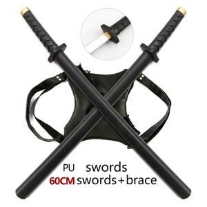 2in1 Foam Demon Fantasy Samurai Sword Blade Katana Deadpool Cosplay Sword Prop