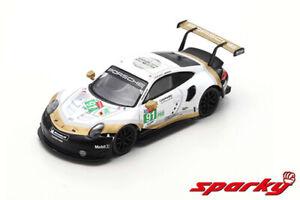 Sparky 1/64 Porsche 911 RSR No.91 Porsche GT 2nd LMGTE Pro class 24H Le Mans 19