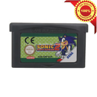 Sonic Advance 2 Game Boy Advance GBA English Console Video Game Play Now !