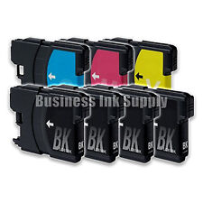 7 PK New LC61 Ink Cartridge for Brother Printer MFC-490CW MFC-J415W MFC-J615W