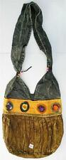 R345 New Trendy & Artistic Shoulder Drop Cotton Bag Hand Made in Nepal