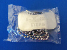 X-MEN   STORM   ID DOG TAG NECKLACE  MARVEL COMICS  NEW