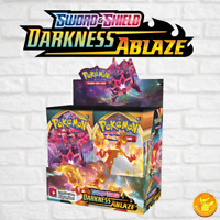 Pokemon Sword and Shield Darkness Ablaze TCG Booster Box (36 Packs NEW)