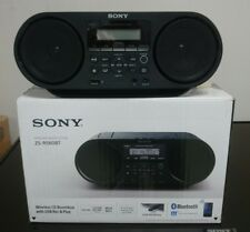 SONY ZS-RS60BT LETTORE CD CON RADIO AM /FM,USB, Bluetooth E NFC