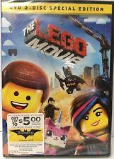 The Lego Movie (DVD,2014) Chris Pratt, Will Ferrell, Will Arnett, Liam Neeson