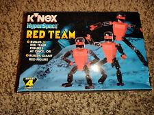 Vintage 1998 K'Nex Hyperspace Red Team Set New in Box Sealed